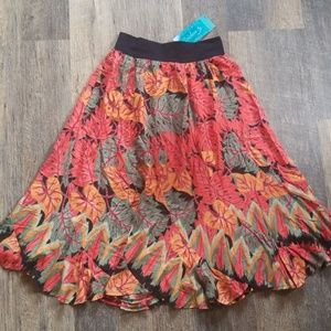 Hawaiian print skirt